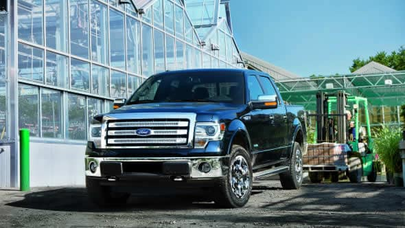 2014 Ford F-150 Lariat Exterior Front End