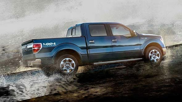 2014 Ford F-150 Lariat Exterior Side Profile